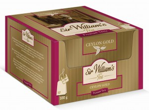 Herbata Sir William's Tea Ceylon Gold /50 saszetek/ (SW5001)