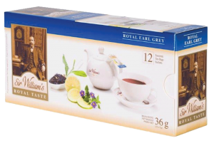 Herbata Royal Earl Grey Sir William's /12 saszetek/ (SW1202)