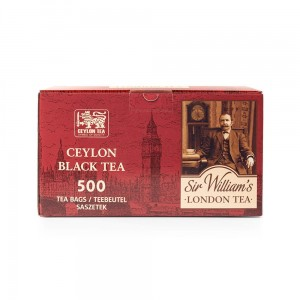 Herbata Sir William's London Ceylon Black Tea 500 szt. SWLCB1