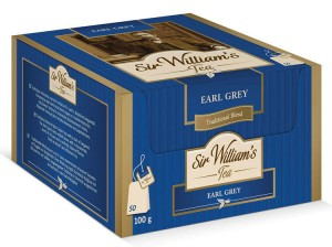 Herbata Sir William's Tea Earl Grey (50 saszetek) (SWW010)