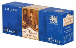Herbata czarna Earl Grey - Sir William's 25 saszetek (SWL002)